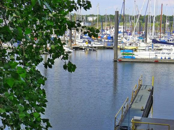 Segelyacht-Hafen Marina Rüsch