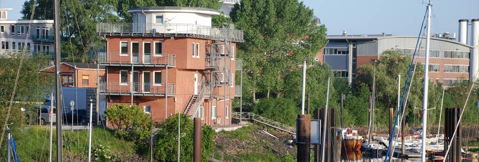 Verwaltungsgebäude Marina Rüsch